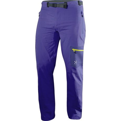 Haglofs Lizard Soft Shell Pants (For Men) in Noble Blue