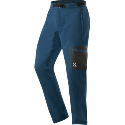 Haglofs Lizard Soft Shell Pants (For Men) in Strato Blue