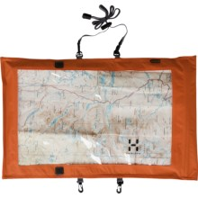 Haglofs Map Case in Mandarin/Charcoal - Closeouts