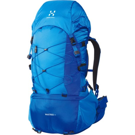 Haglofs Matrix 50 Backpack - Internal Frame in Gale Blue/Storm Blue