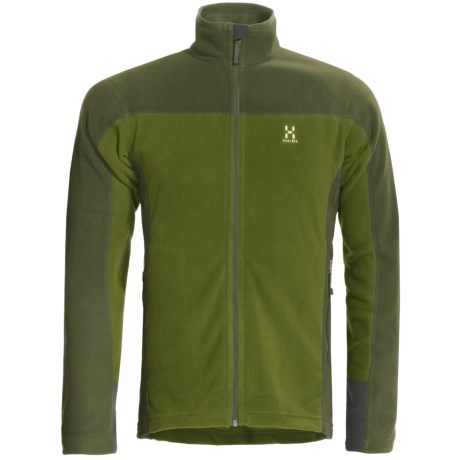 Haglofs Micro Jacket (For Men) in Leaf Green/Pine Geern