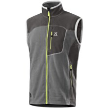 Haglofs Micro Polartec® Fleece Vest (For Men) in Dark Petwer/Graphite - Closeouts