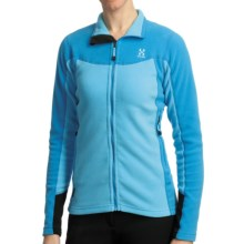 Haglofs Micro Q Jacket - Polartec® Classic Microfleece (For Women) in Celestial Blue/Powder Blue - Closeouts