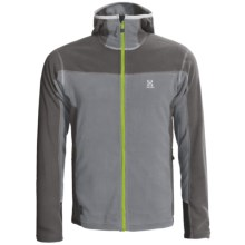Haglofs Micro Zip Hoodie Sweatshirt (For Men) in Dark Petwer/Graphite - Closeouts
