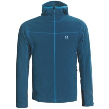 Haglofs Micro Zip Hoodie Sweatshirt (For Men) in Strato Blue - Closeouts