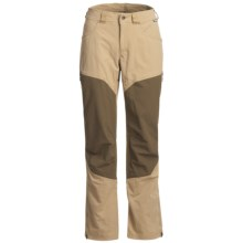 Haglofs Mid Flex Pants - UPF 40+ (For Women) in Caliza Beige/Bracken - Closeouts