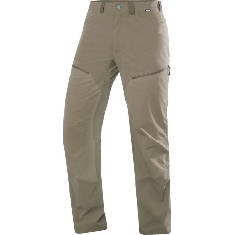 Haglofs Mid Flex Trekking Pants - UPF 40+ (For Men) in Dune Short