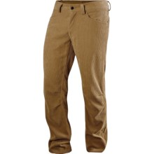 Haglofs Mid Trail Pants - UPF 50+ (For Men) in Lion Gold Corduroy - Closeouts