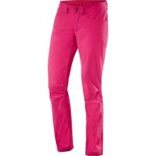 Haglofs Mid Trail Pants - UPF 50+ (For Women) in Cosmic Pink Corduroy - Closeouts