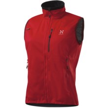 Haglofs Naja Windstopper® Vest - Soft Shell (For Women) in Deep Red - Closeouts