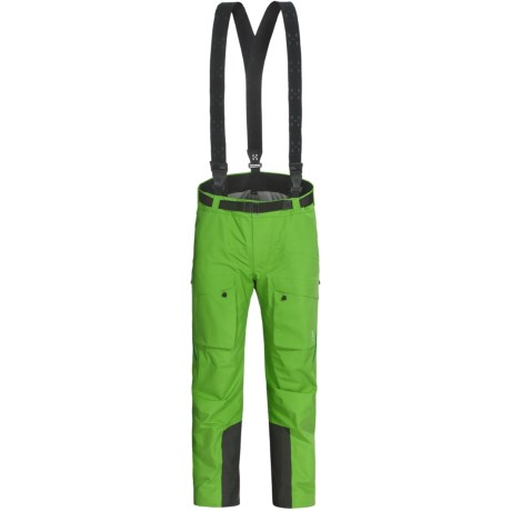Haglofs Nevluk Gore-Tex® Performance Shell Pants - Waterproof, Insulated (For Men) in Oxide Green