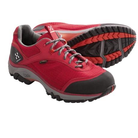 Haglofs Observe Gore-Tex® Trail Shoes - Waterproof (For Women) in Deep Red