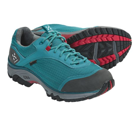 Haglofs Observe Gore-Tex® Trail Shoes - Waterproof (For Women) in Kolibri Blue