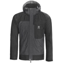 Haglofs Orion Gore-Tex® Jacket - Waterproof (For Men) in Graphite/Charcoal - Closeouts