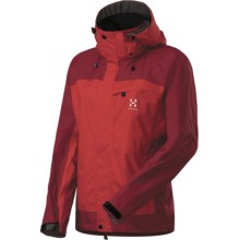 Haglofs Orion Gore-Tex® Jacket - Waterproof (For Women) in Deep Red/Cardinal - Closeouts