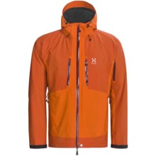 Haglofs P2 Verte Jacket - Waterproof (For Men) in Orange Rush/Sunset - Closeouts