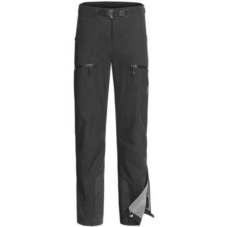 Haglofs P3 Zenith Pants - Waterproof, Recycled Materials (For Men) in Black