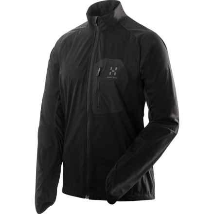 Haglofs Pace Jacket - Lightweight (For Men) in True Black - Closeouts