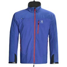 Haglofs Pelamis Windstopper® Jacket - Soft Shell (For Men) in Speed Blue - Closeouts
