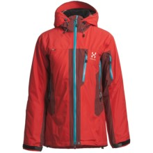 Haglofs Pirtuk Gore-Tex® Performance Shell Primaloft® Ski Jacket - Waterproof, Insulated (For Women) in Deep Red/Mellow Red - Closeouts