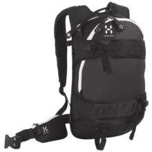 Haglofs Powder Poetry Snowsport Backpack - 18L in Black/Charcoal - Closeouts