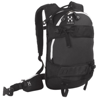 Haglofs Powder Poetry Snowsport Backpack - 18L in Black/Charcoal