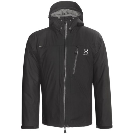Haglofs Qanir Windstopper® Jacket - Insulated (For Men) in Black