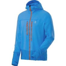 Haglofs Rando Jacket - Stretch Fleece (For Men) in Aero Blue - Closeouts