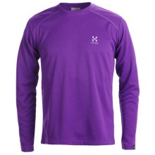 Haglofs Return T-Shirt - UPF 40+, Long Sleeve (For Men) in Griffon - Closeouts