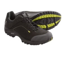 Haglofs Ridge Trail Shoes - Nubuck (For Men) in Black/Budgie Green - Closeouts