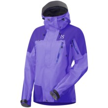 Haglofs Riot II Q Gore-Tex® Performance Shell Jacket - Waterproof (For Women) in Flash Lilac/Lilac Blue - Closeouts