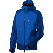 Haglofs Rival Gore-Tex® PacLite® Jacket - Waterproof (For Men) in Storm Blue/Typhoon Blue - Closeouts