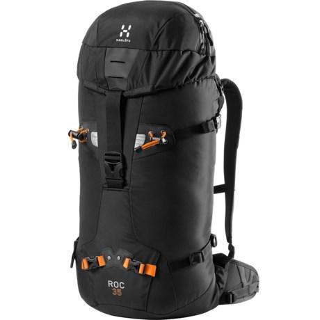 Haglofs Roc 35 Backpack in True Black