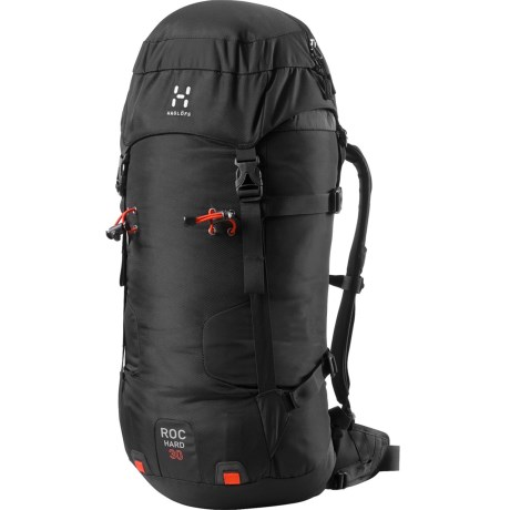 Haglofs Roc Hard Climbing Backpack in True Black