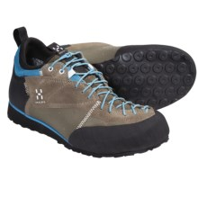 Haglofs Roc Legend Gore-Tex® Approach Shoes - Waterproof, Suede (For Women) in Tungsten/Celestial Blue - Closeouts