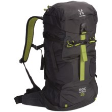 Haglofs Roc Speed Climbing Backpack in Black/Charcoal - Closeouts