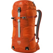Haglofs Roc Speed Climbing Backpack in Sunset/Orange Rush - Closeouts