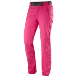 Haglofs Schist Q Soft Shell Pants (For Women) in Cosmic Pink