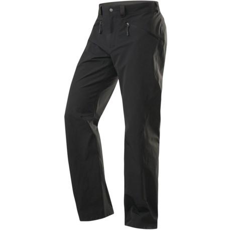 Haglofs Shale Soft Shell Pants (For Men) in Black