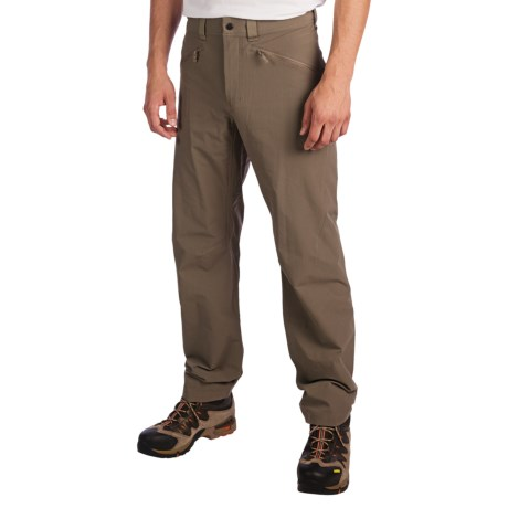 Haglofs Shale Soft Shell Pants (For Men) in Driftwood