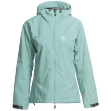 Haglofs Sirocco Jacket - Windstopper® (For Women) in Geiser Blue - Closeouts