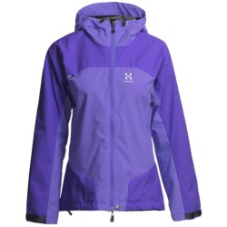 Haglofs Sirocco Jacket - Windstopper® (For Women) in Geiser Blue