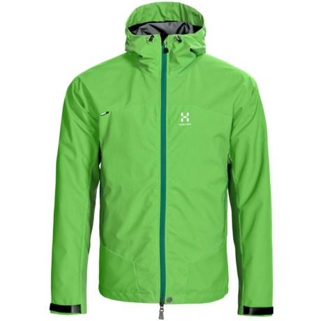 Haglofs Sirocco Windstopper® Jacket (For Men) in Oxide Green