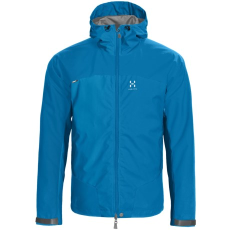 Haglofs Sirocco Windstopper® Jacket (For Men) in Oxide Green