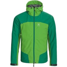 Haglofs Sirocco Windstopper® Jacket (For Men) in Verdigris/Oxide Green - Closeouts
