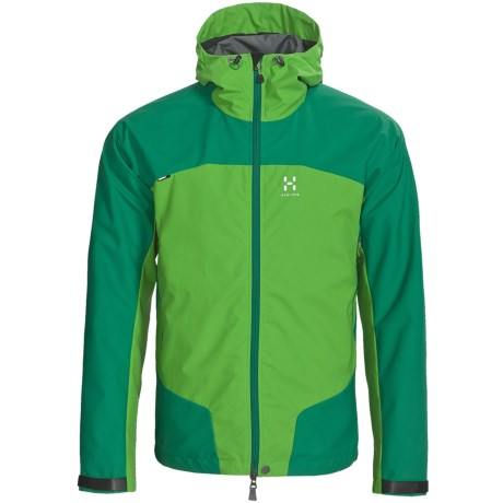 Haglofs Sirocco Windstopper® Jacket (For Men) in Verdigris/Oxide Green