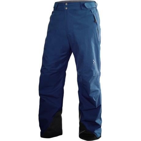 Haglofs SKRA Gore-Tex® Pants - Waterproof, Insulated (For Men) in Hurricane Blue