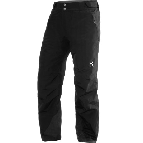 Haglofs SKRA Gore-Tex® Pants - Waterproof, Insulated (For Men) in True Black