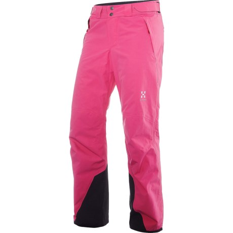 Haglofs SKRA Q Gore-Tex® Pants - Waterproof, Insulated (For Women) in Astral Pink