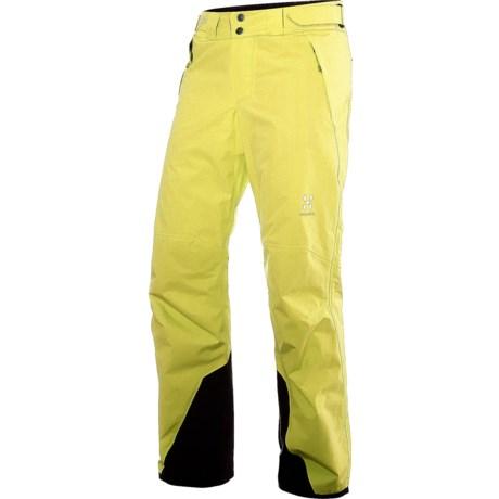 Haglofs SKRA Q Gore-Tex® Pants - Waterproof, Insulated (For Women) in Brimstone